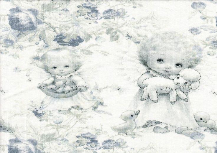 T1039 Trikå änglar (digitaltryck)