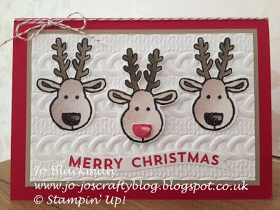 Jo-Jo's Crafty Blog:Stampin' Up! Cookie Cutter Christmas