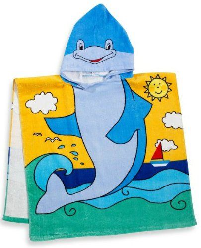 Dolphin Kids Hooded Beach Towel BBB http://www.amazon.com/dp/B0088FJB0E/ref=cm_sw_r_pi_dp_wTNjvb0B6TJ89