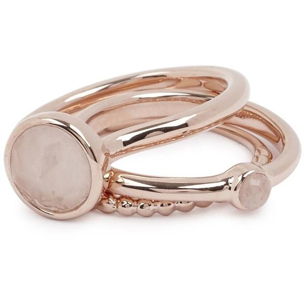Womens Rings Lola Rose Nerio Rose Gold Tone Rings found on Polyvore featuring jewelry, rings, lola rose jewelry, lola rose, lola rose jewellery and rose gold tone jewelry