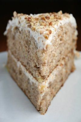 Hummingbird Cake: Banana Cake: Cream Cheese Frostings, Hummingbirds Cakes, Bananas Coconut, Pecans With Bananas Cakes, Cream Chee No Baking Recipe, Hummingbird Cake, Cream Chee Frostings, My Birthday, Bananas Breads