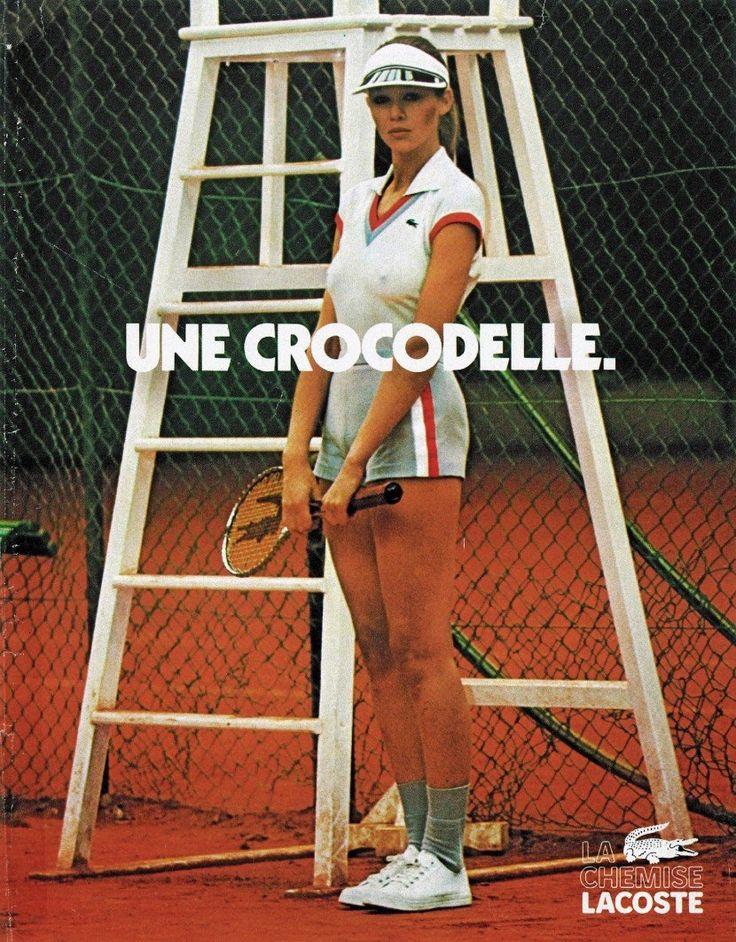 Lacoste vintage Ad