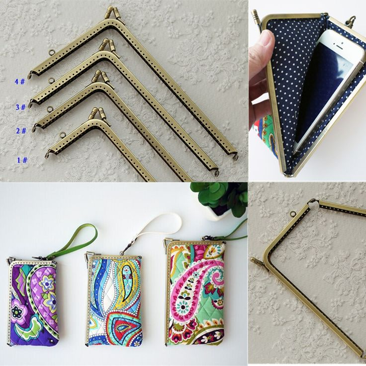 how to make a clutch bag with metal clasp