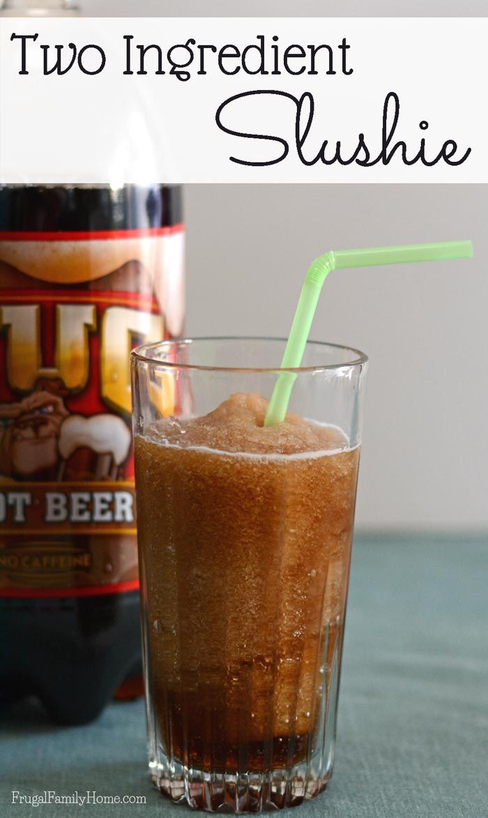 I love to beat the heat in the summer with a nice cold drink. This slushie recipe only take a couple of ingredients and a blender to make. Slushies are so cool, refreshing and easy to make. I think berry is my favorite but these root beer slushies come in a close second.