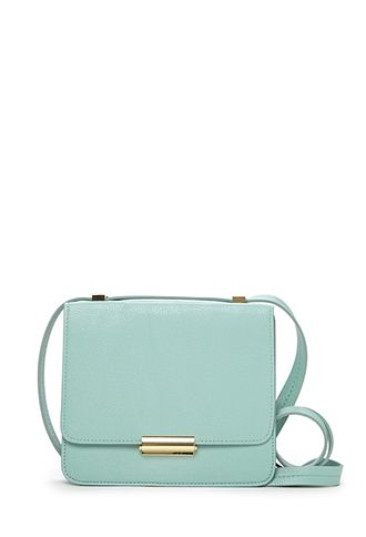 Subtle Thing Crossbody | FOREVER21 - 1000091183  they have 3 colors, this, ivory (i think) and pink but this light blue is so chic.