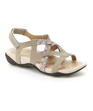7ec98e233026 Loving this Taupe Woodland Sandal - Women on  zulily!  zulilyfinds ...