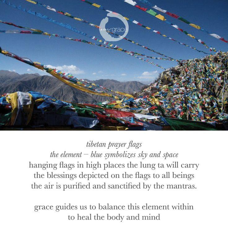 #TibetanPrayerFlags promote #Peace #Compassion  #Strength #Wisdom is #bliss #calmness #weargrace #yogawear