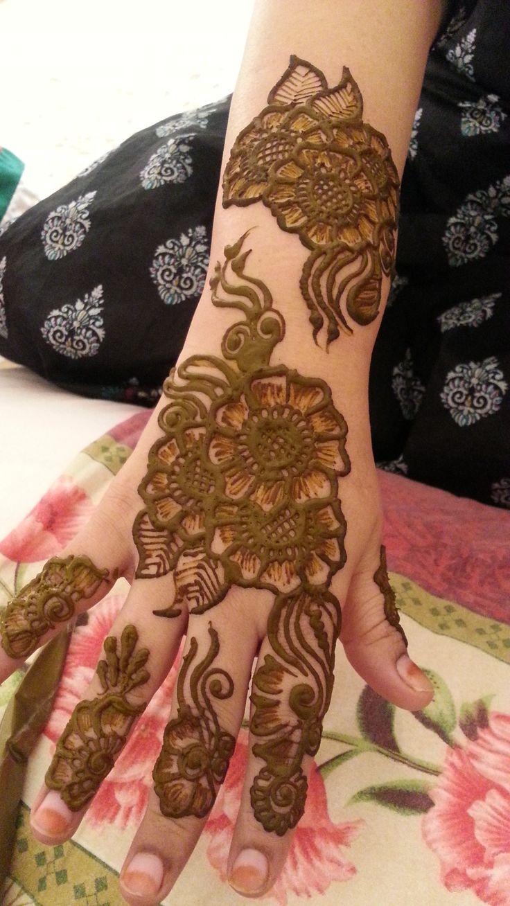 Henna Painting Or Henna Tattoo