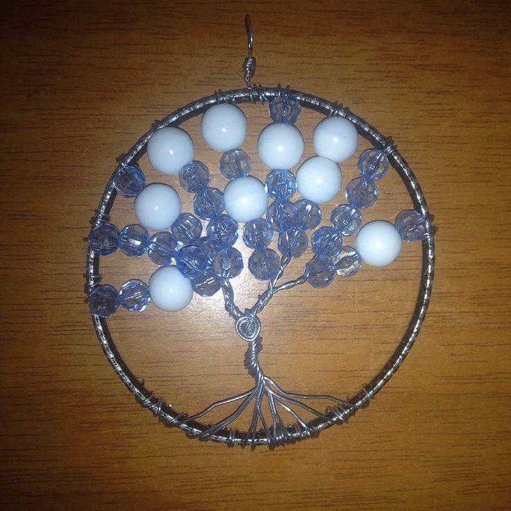 Handmade dreamy tree of life