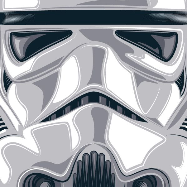 Star Wars Stormtrooper Helmet Vector Illustration Star Wars Men Star Wars Stormtrooper Star Wars