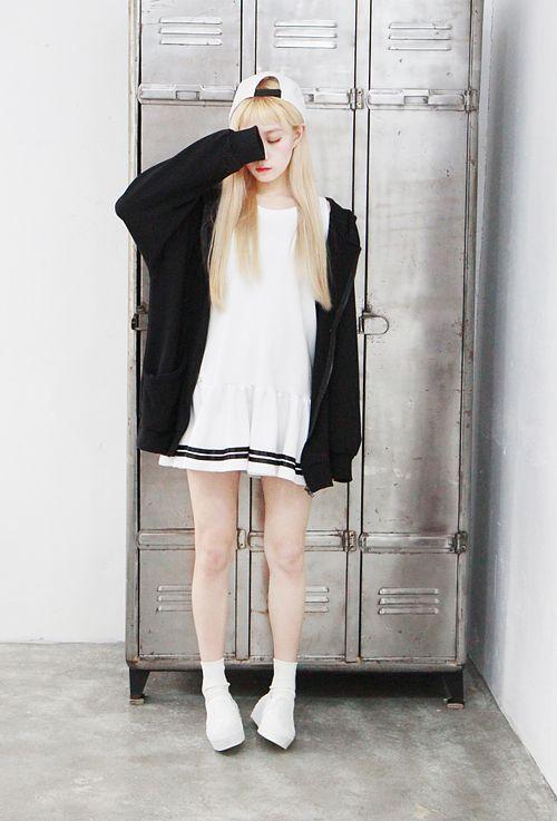 korean outfits girl | tumblr | Korean Girl & Korea Fashion | Pinterest