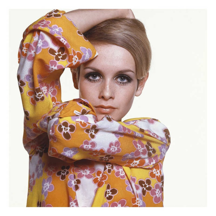 pattern Twiggy, Vogue - March 1967