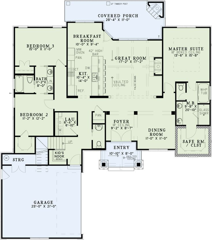 House plan 110 01022 craftsman plan 2 091 square feet for House plans alberta