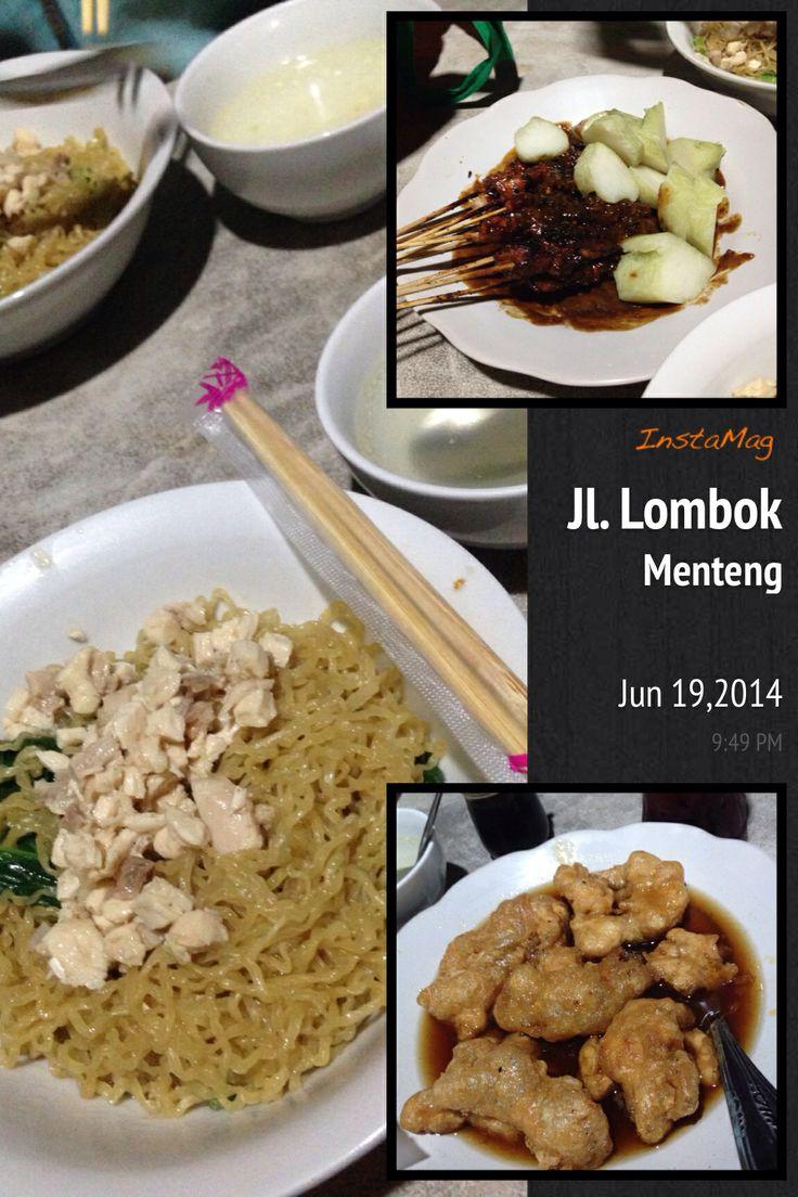 Jl. Lombok street food , Menteng -Jakarta