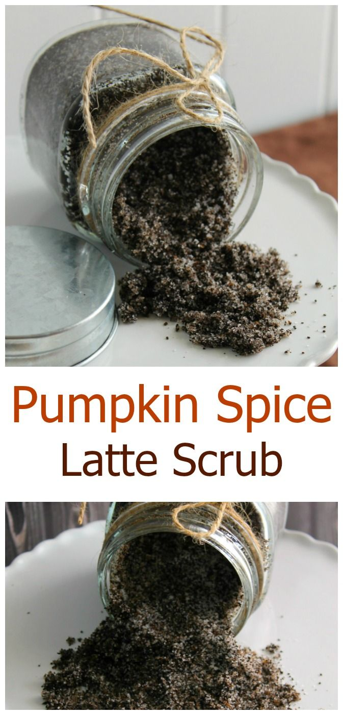 A Pumpkin Spice Latte is a favorite fall treat. Now you can enjoy the smell in a coffee scrub! This easy DIY Pumpkin Spice Latte Scrub is a perfect fall homemade spa treatment, and makes a great gift too.