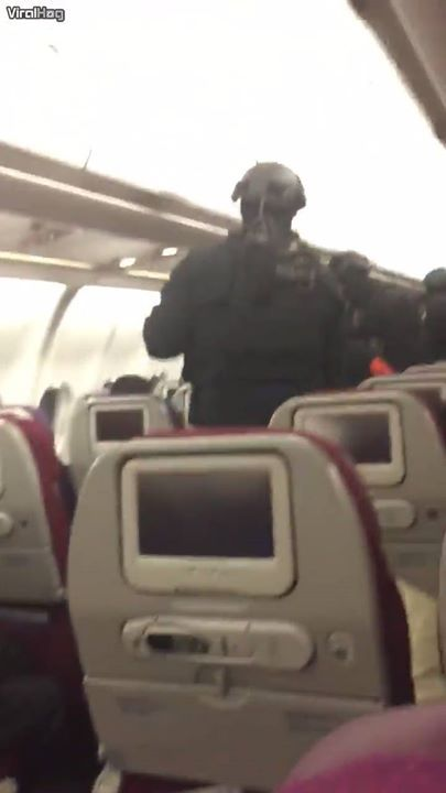 A passenger on Malaysia Airlines Flight MH128 witnessed a potential terrorist re...