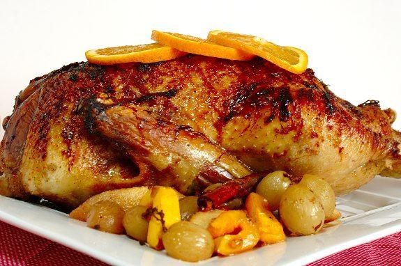 Cinco Quartos de Laranja: Pato assado com laranja e vinho do Porto                                                                                                                                                                                 Mais