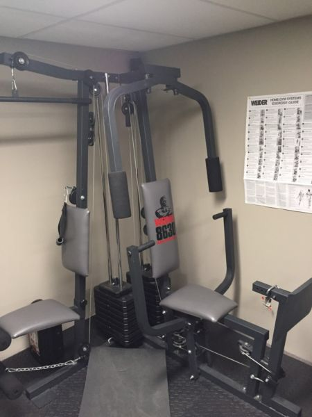 This is a very versatile machine that is able work out many muscle groups. No need for a gym membership with this machine. Would be interested to trade for a inversion table or treadmill. I am located in Canora