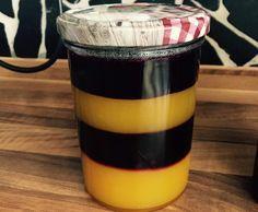 Rezept BVB Fan-Marmelade (Heidelbeere/Mango) von VanHei - Rezept der Kategorie Saucen/Dips/Brotaufstriche
