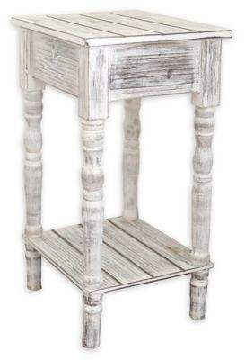 Bed Bath Beyond Coastal Collection Small Coastal End Table In