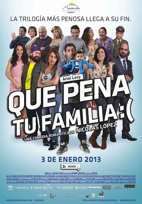 Qué pena tu familia 2012 full Movie HD Free Download DVDrip