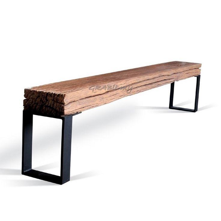 railway sleeper bench - Google Search