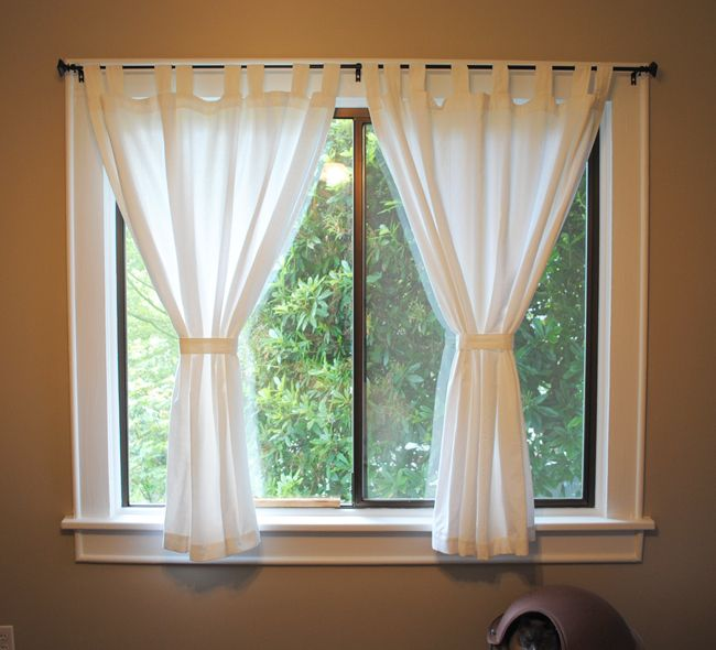 Curtains Ideas curtain ideas small windows : 17 Best ideas about Short Window Curtains on Pinterest | Small ...