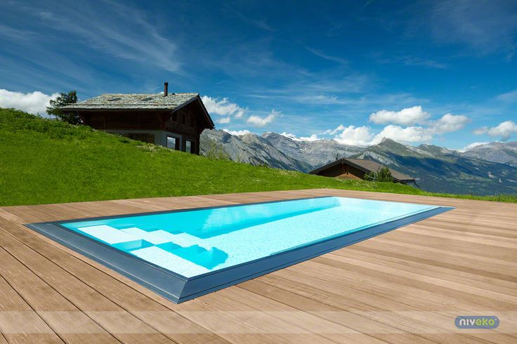 NIVEKO Advance » niveko-pools.com #lifestyle #design #health #summer #relaxation #architecture #pooldesign #gardendesign #pool #swimmingpool #pools #swimmingpools #niveko #nivekopools