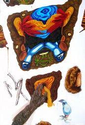 """Dearest Light"" – Oil on canvas – 8 x 5 1/2′ (2007) nickhelton.com"
