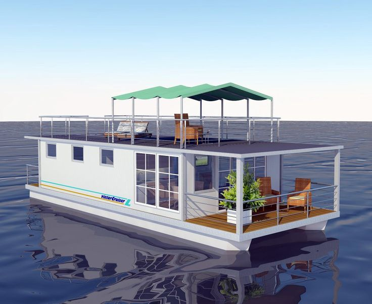 163 best floating homes pontoon boats images on pinterest for Boat house designs plans