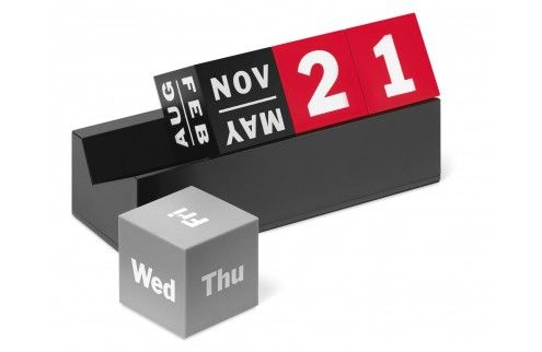 MoMA ewiger Kalender, Cubes