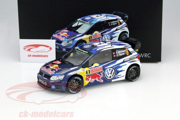 Volkswagen VW Polo R WRC, WRC 2015, No.9, Andreas Mikkelsen / Ola Floene, Volkswagen Motorsport II Team. Norev, 1/18. Price (2016): 85 EUR.