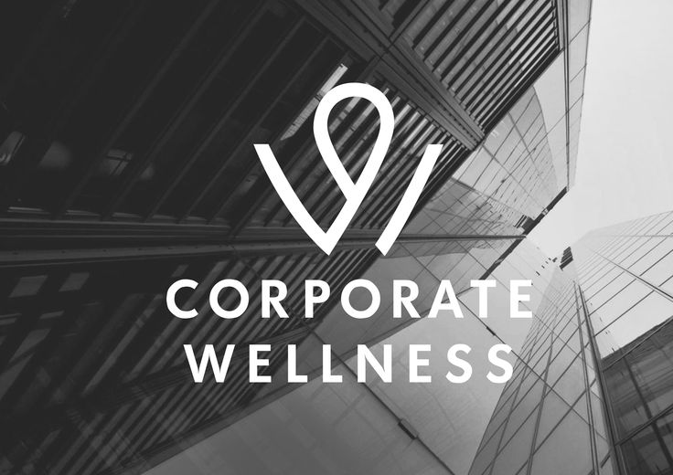 Corpotare Wellness logotype by Paprotnik Studio.