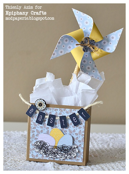 mod paperie: Easter Treat Bags - Epiphany Crafts DT Project. - via http://bit.ly/epinner