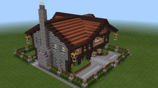 Minecraft House Idea  With Images