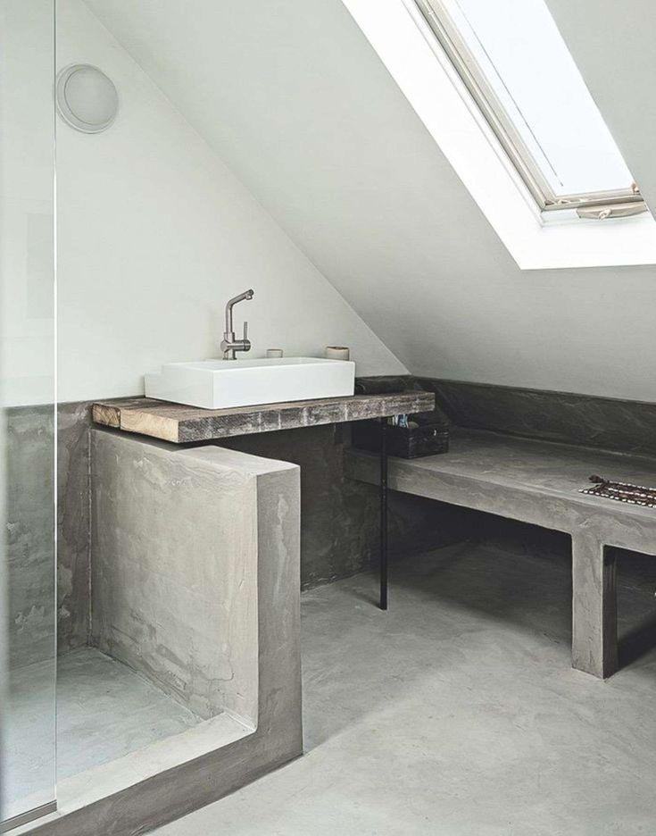 Trends Hunter | Concrete bathroom