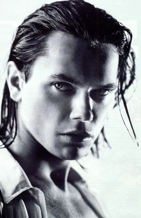 River Phoenix ( I watched A movie with him in it April 2013 I am so hooked ♥ He is Beautiful ♡