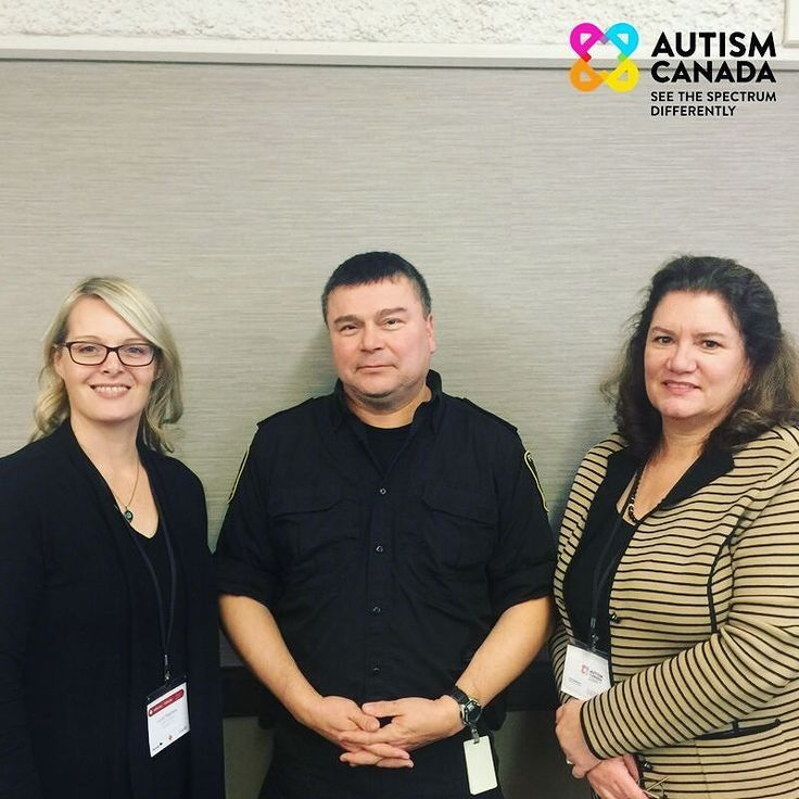 This week Lucie Stephens (Program Director Autism Canada) and Laurie Mawlam (Executive Director Autism Canada) met with Sgt. Randy Antonio (Winnipeg Police Service) to continue planning for a program that will improve the #safety of people on the #autism spectrum.