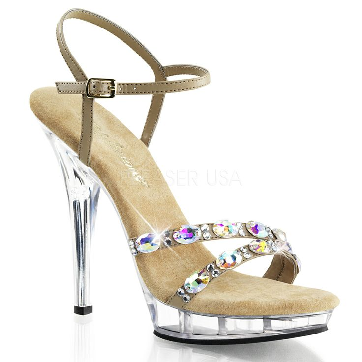 """""""Bella"""" competition posing heel. Ideal for figure, fitness and bikini competition and posing."""