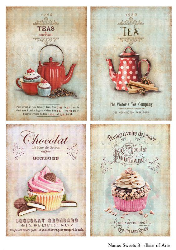 картинки для декупажа кухня для печати на принтере в хорошем качестве: 14 тыс изображений найдено в Яндекс.Картинках