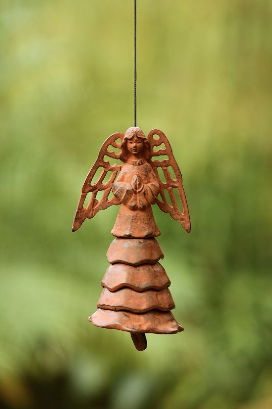 rustic angel chime