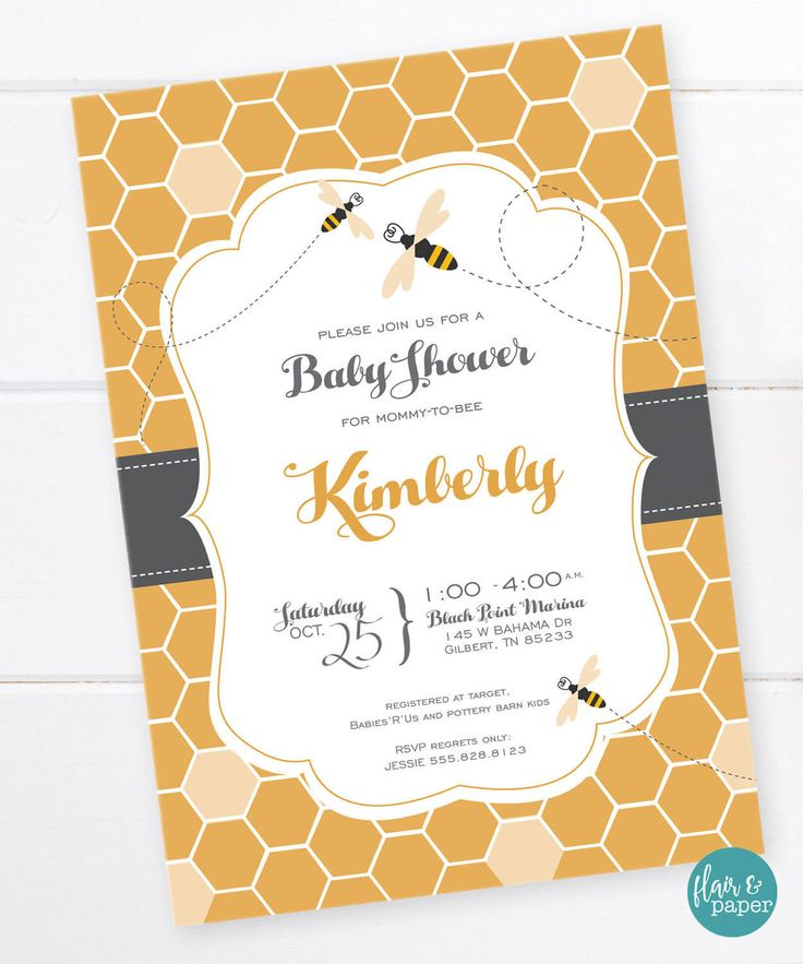 144 best images about baby shower invitations on pinterest | space, Baby shower invitations