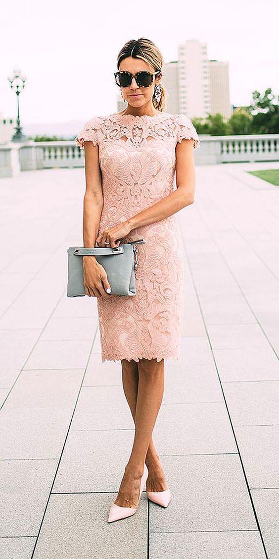 vestidos-para-la-mama-ideal-para-bautizo (5) - Beauty and fashion ideas Fashion Trends, Latest Fashion Ideas and Style Tips