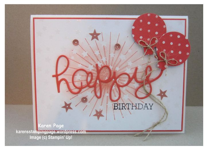 Birthday card, Stampin' Up!, Irresistibly Yours DSP, Hello You Thinlits, Crazy About You, Kinda Eclectic Birthday Bash DSP
