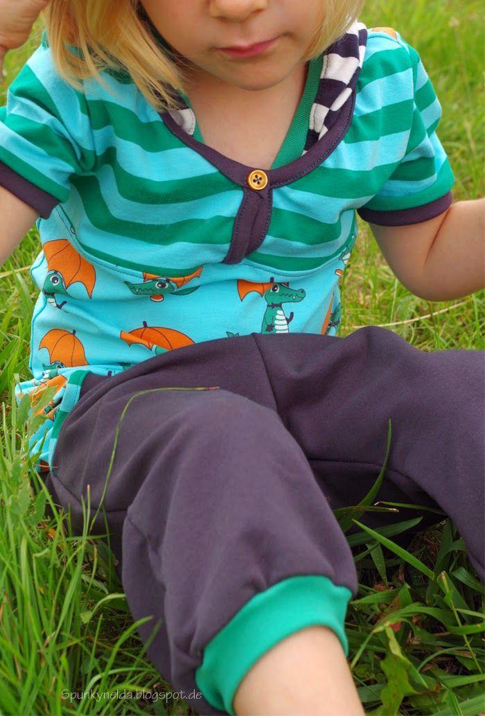 I love sewing! Handmade by Spunkynelda, fabrics: Nosh organics autumn 2014