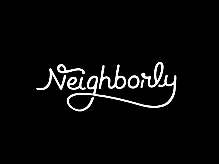 Neighborly Script by Michael Spitz