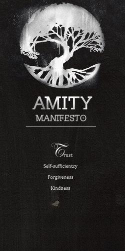 Amity manifesto.