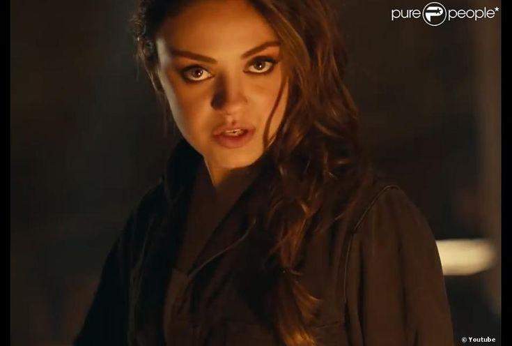 Mila Kunis jim beam | Mila Kunis dans la campagne publicitaire pour la marque de whisky Jim ...