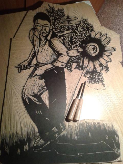 xilogravura xilografia woodcut wood engraving kbelmar