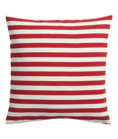 Red Stripe Cushion Cover for christmas